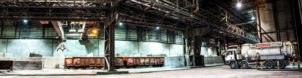 Industriereinigung Industriehalle und Industrieanlage