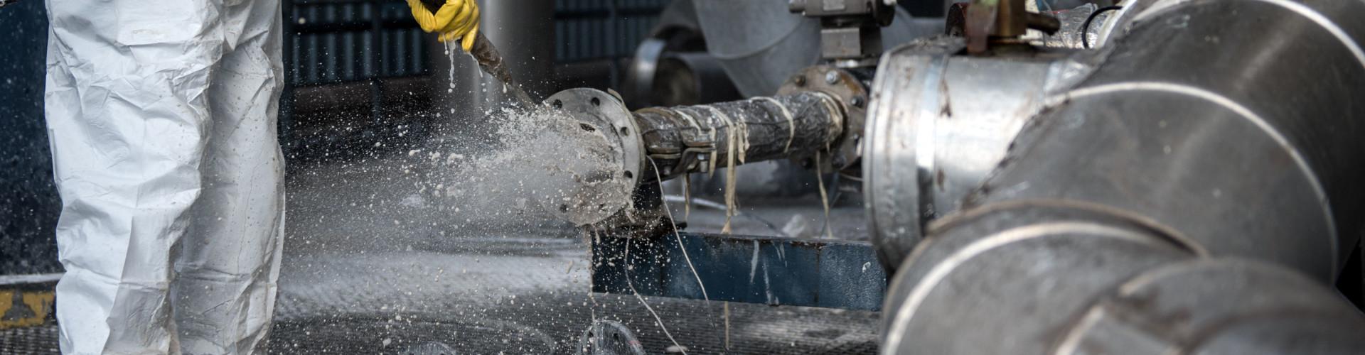 Industriereinigung Hochdruckwasserstrahlen
